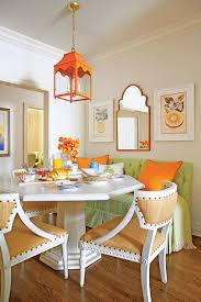 Colorful Kitchen Breakfast Nook