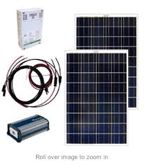 first off grid solar zer for dummies peak prosperity convert dc to ac current something that is not needed for this refrigerator but it conveniently includes connecting cables each panel has an aluminum