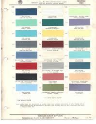 1965 Pontiac Color Chart 1957 Pontiac Car Painting Vintage Cars Paint Chips