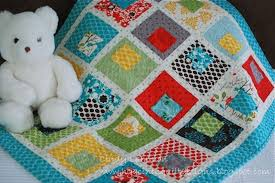 Building Blocks Baby Quilt Â« Moda Bake Shop & Building Blocks Baby Quilt Adamdwight.com