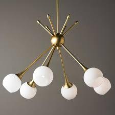 mid century modern mobile chandelier 6 light
