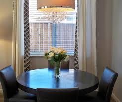 modern round dining table dining room eclectic with