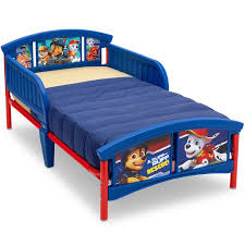 bed. Paw Patrol Plastic Toddler Bed