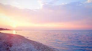 Greece Sea Beach Sunset 4k HD ...
