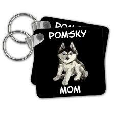 Amazon Com Sven Herkenrath Dogs Pomsky Dog For Mom Mommy