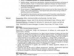 General Objective Resume Examples Resume For Study