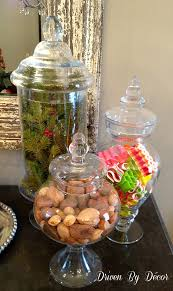 What To Put In Jars For Decorations Sweet Ideas Apothecary Jars Christmas Decorations Chritsmas Decor 52