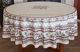 french provence avignon beige burdy acrylic coated tablecloth french oilcloth indoor outdoor tablecloths french country home decor gifts marat