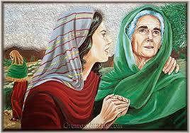 Resultado de imagen de ruth y noemí, mujeres guiadas por dios