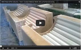 fluted gfrc columns architectural gfrc manufacturing process