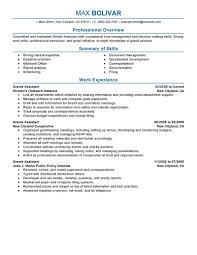 Perfect Sample Resume Tomyumtumweb Com
