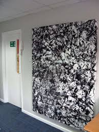 drip painting for called morpheus jackson pollock