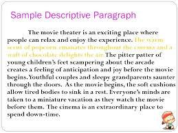 Descriptive Essay Of A Person Examples Describing Essay Person Adjective Example Writing A Descriptive List