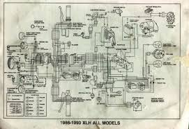 harley davidson 1990 sportster wiring diagram harley need a wiring diagram for a 1987 883 sportster harley davidson on harley davidson 1990 sportster