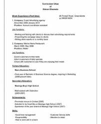 Draft Of A Resume How To Draft Resume Complete Guide Example