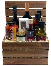 on image for larger view this napa valley cabernet crate gift basket