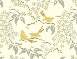 bird, wallpaper, for, bathrooms