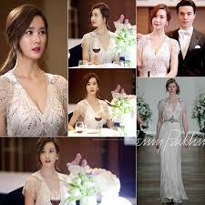 korean drama wedding dress bridal gown 1