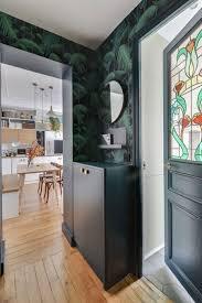 Mooie Hal Met Jungle Behang Interieur Inrichting
