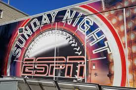 Presenting Espn Sunday Night Baseball Bingo Bleed Cubbie Blue