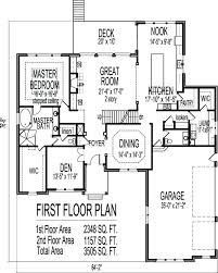 4 bedroom 2 story house plans house plans stone four bedroom five bath 3 car w