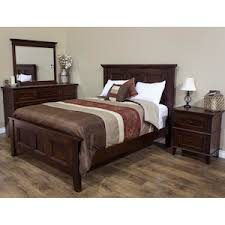 Brentwood 4 Piece King Bedroom Set in Sunset