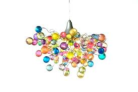 multi colored glass chandelier colored chandelier multi colored blown glass chandelier
