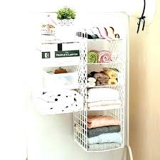 3 shelf hanging closet organizer plastic storage shelves holder wardrobe clothes underwear systems