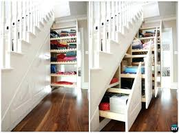 built in bookshelves under stairs under the stairs slide out drawers build  in ideas to use