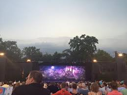 The Muny St Louis Seating Chart View From Section B6 Row P Seats 19 And 20 Dead Center
