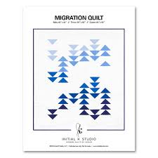 Migration Quilt PDF Pattern — Initial K Studio & Migration Quilt PDF Pattern Adamdwight.com