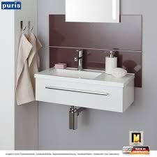 Puris For Guests Waschtisch Set 60 Cm Breite Mit Ablage Rechts