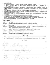 Autocad Electrical Resume Sample – Weeklyresumes.co