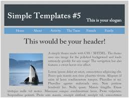 Simple Website Templates Inspiration Basic Website Layout HTML Marvelous Simple Website Templates
