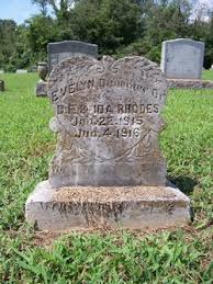 Evelyn Rhodes (1915-1916) - Find A Grave Memorial
