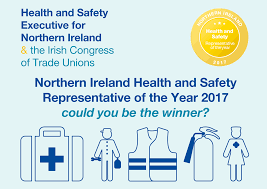 safety representitive ni h s representative of the year 2017 health and safety executive
