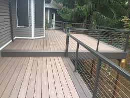 wolf composite decking. Fine Wolf WOLF PVC Decking In Weathered Ipe With Black Walnut Borders With Wolf Composite C