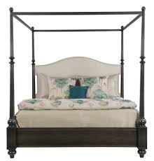 Upholstered Canopy Bed