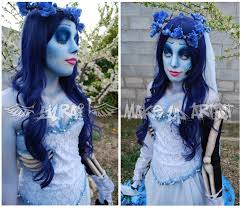 corpse bride make up by yurai cosplay