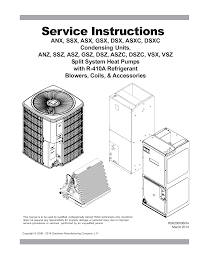 Goodman Subcooling Chart Service Instructions Manualzz Com