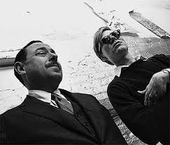 tennessee williams and andy warhol ~writers  tennessee williams and andy warhol