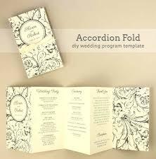 folded invitation template photoshop. Folded Invitation Template Photoshop Fold Wedding Program Email