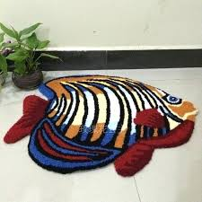 fish area rugs colorful fish area rugs handmade floor mats washable anti slip floor mat colorful fish area rugs
