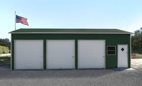 3 Car Metal Garage Unturned : 3 Car Metal Garage Buildings ...