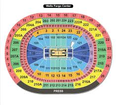 Wachovia Center Virtual Seating Chart Wells Fargo Center Philadelphia Pa Seating Chart View