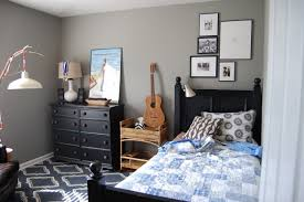 ... Terrific Room Colors For Teens Teenage Room Colors For Guys With Grey  Painting Wall ...
