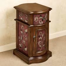 seaside furniture gallery. sophie chairside cabinet burgundy seaside furniture gallery
