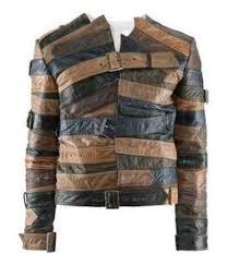 maison martin margiela for h m short leather belt jacket hm mmm ebay
