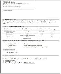 resume format for fresher a resume format for fresher 2 resume format sample resume