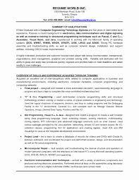 Sample Resume Format For Experienced Engineers Elegant Resume Format